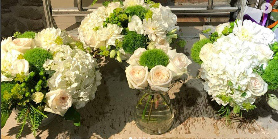 florals designed specifically for a home event